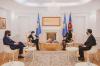 Presidentja Osmani priti në takim ambasadoren e Francës, Marie-Christine Butel