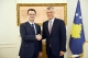 President Thaçi receives President of the Justice Party and the President of the Liberal Party of Kosovo