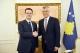 Presidenti Thaçi priti kryetarin e Partisë së Drejtësisë dhe atë të Partisë Liberale të Kosovës