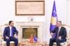 Presidenti Thaçi dhe zëvendëskryeministri i Maqedonisë: Marrëveshja në mes Greqisë dhe Maqedonisë krijon klimë të mirë rajonale