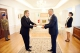 President Thaçi receives the credentials from the new ambassador of Italy