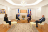 President Osmani received the Commissioner for Information and Privacy Krenare Sogojeva