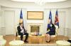 Predsednica Osmani dočekala je na sastanku ambasadora Austrije Christopha Weidingera