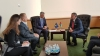 Presidenti Thaçi takoi në Nju Jork Mbretin Abdullah II të Jordanisë