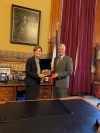 President Thaçi is received by the Governor of Iowa, expresses satisfaction with the cooperation