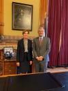 Predsednika Thaçija dočekala guvernatorka Ajove, izrazio zahvalnost na saradnji