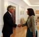 President Jahjaga received Mr Harri Salmi, Ambassador of Finland to Bulgaria, accredited to Kosovo on non-residential bases
