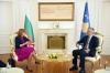 Presidenti Thaçi priti në takim zëvendëskryeministren bullgare, Ekaterina Zaharieva