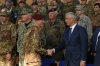 President Thaçi at the KFOR change of command: Kosovo aspires to be a NATO member and to contribute to world peace