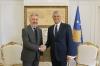 Presidenti Thaçi priti Ministrin e Mbrojtjes të Italisë, Lorenzo Guerini, e falënderoi për rolin e Italisë në forcimin e paqes