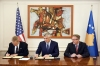 President Thaçi and Ambassador Delawie today signed the amendment of the 30 million dollar agreement between Kosovo and U.S.A