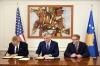 Presidenti Thaçi dhe ambasadori Delawie nënshkruan sot amandamentimin e marrëveshjes 30 milionë dollarëshe ndërmjet Kosovës dhe SHBA-së