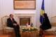 Predsednica Jahjaga je dočekala predsednika Senata Parlamenta Holandije, Fred De Graaf