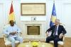 Presidenti Thaçi pranoi kredencialet e ambasadorit jorezident të Guineas për Kosovën