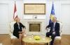 Presidenti Thaçi pranoi kredencialet edhe të ambasadores së re të Letonisë