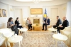 Predsednik Thaçi dočekao na sastanku šeficu EULEX-a, Alexandra Papadopoulou
