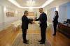 Presidenti Thaçi pranoi letrat kredenciale nga ambasadori i ri i Belgjikës