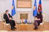 Presidentja Osmani priti në takim Ambasadorin Bencze 1