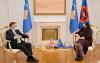 Presidentja Osmani priti në takim ambasadorin e Britanisë së Madhe, Nicholas Abbott