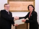 President Jahjaga received the non-resident Ambassador of Ireland, Mr. John Deady