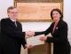 President Jahjaga received the non-resident Ambassador of Ireland, Mr. John Deady