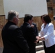 President Jahjaga visited the Croatian community in Janjevo