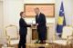 """Presidenti Thaçi nderon historianin Sir Noel Malcolm me dekoratën """"Medalja e Artë e Lidhjes së Prizrenit"""""""