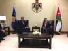 Presidenti Thaçi takoi Mbretin e Mbretërisë Hashemite të Jordanisë, Abdullah II bin Al-Hussein