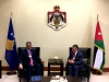 President Thaçi met the King of the Hashemite Kingdom of Jordan, Abdullah II bin Al-Hussein