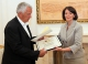 "President Jahjaga handed the Order ""Hero of Kosovo"" to the family of Ilir Konushevci"