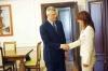 Presidenti Thaçi dhe Ministrja e Mbrojtjes së Sllovenisë flasin për ushtrinë e Kosovës