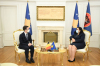 Predsednica Osmani sastala se sa rukovodiocem diplomatske misije Kraljevine Belgije Julienom Sasselom
