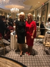 The First Lady of Kosovo meets in New York with her counterparts