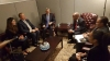 Presidenti Thaçi takoi në Nju Jork Zëvendëskryeministrin dhe Ministrin e Punëve të Jashtme të Saint Vincent dhe Grenadines, Sir Louis Straker