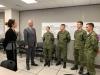 Presidenti Thaçi viziton Gardën Kombëtare në Iowa, takon pjesëtarët e FSK