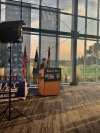 """Predsednik Thaçi učestvovao na svečanom pokretanju programa """"Women in Energy"""" i na proglašenju akademske godine """"godinom Kosova"""" na koledžu u De Mojnu"""