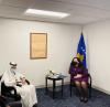 Presidentja Osmani dhe ministrja Gërvalla u takuan me sekretarin e Përgjithshëm të Organizatës së Konferencës Islamike