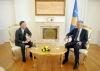 Presidenti Thaçi priti auditorin e Përgjithshëm, Besnik Osmani