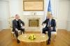 Presidenti Thaçi priti shefin e misionit të OSBE-së, Jan Braathu