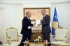 President Thaçi received from Prime Minister Haradinaj the 100-days of work report of the Government of Kosovo