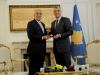 """The President awarded Ambassador Khalilzad the medal """"Order of Independence"""""""