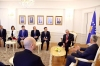 President Thaçi is awarded an appreciation by the representatives of the Egyptian community in Kosovo