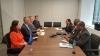 President Thaçi met in New York with the Prime Minister of Solomon Islands, Manasseh Sogavare