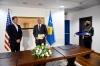 Presidenti Thaçi i dorëzoi Medaljen Presidenciale të Meritave ambasadorit Grenell