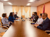 President Osmani and Minister Gërvalla met with the President of Guyana, Mr. Mohamed Irfaan Ali
