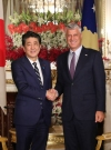 President Thaçi meets Prime Minister Abe, express pleasure on rapprochement between the two countries