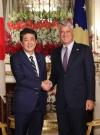 Presidenti Thaçi takon kryeministrin Abe, shprehen të kënaqur me afrimin mes dy vendeve