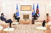 U.d. Presidentja Osmani priti në takim Koordinatoren për Zhvillim të OKB-së, znj. Ulrika Richardson