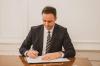 U.d. Presidenti i Kosovës, Glauk Konjufca kërkon propozimin e Lëvizjes Vetëvendosje për Kryeministër