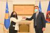 U.d. Presidentja e Kosovës, znj. Vjosa Osmani ia dorëzoi detyrën e u.d. Presidentit z.Glauk Konjufca